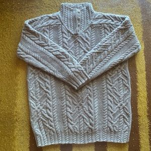 Ralph Lauren Exclusive Hand Knit Cableknit Sweater